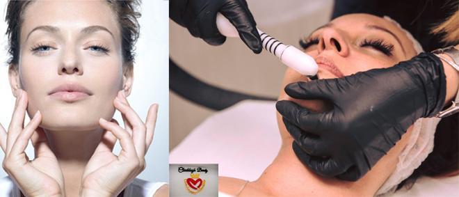 Tratament facial pentru un ten curat, luminos si hidratat: MICRODERMABRAZIUNE FACIALA + MEZOTERAPIE VIRTUALA fara ace cu doar 130 RON la CLADDAGH SALON din PLOIESTI!