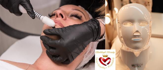 Tratamentul facial de LUX cu puternic efect anti-aging ce include o combinatie imbatabila de terapii revolutionare: MICRODERMABRAZIUNE + RADIOFRECVENTA 4 D(Hidratiq) + Skintech cu doar 150 lei la CLADDAGH SALON din PLOIESTI!