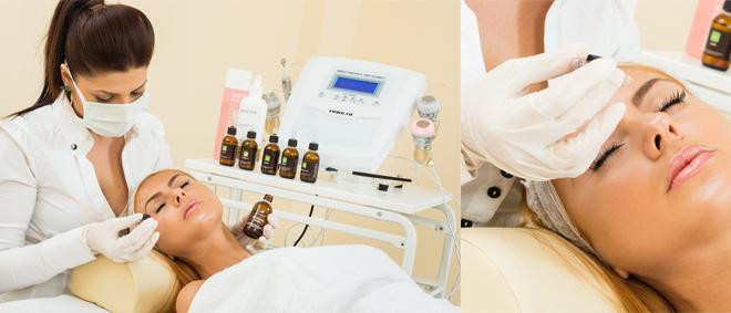 Tratament facial cu MICRODERMABRAZIUNE + peeling CleanCare+ masca hidratare si masaj facial cu Skin Elixier  la DEEA BODY CENTER din Ploiesti cu doar 99 RON!
