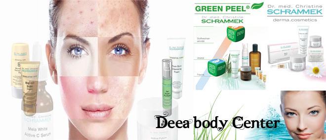 GREEN PEEL ENERGY by Dr. Schrammek , tratament facial pentru CURATARE PROFUNDA, TRATAREA PETELOR PIGMENTARE si REGENERARE CELULARA la  DEEA BODY CENTER din Ploiesti cu doar 240 RON!